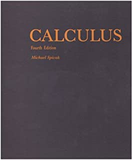 Calculus, Vol  1: One-Variable Calculus, with an