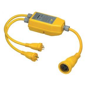 Hubbell Wiring Systems YQ230 Intelligent Y Adapter, 50A, 125/250 VAC, Yellow