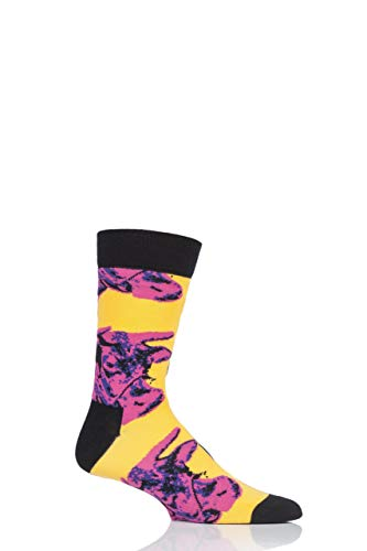 Warhol Andy Collection (Happy Socks Andy Warhol Socks (Andy Warhol Cow Sock, 8-13))