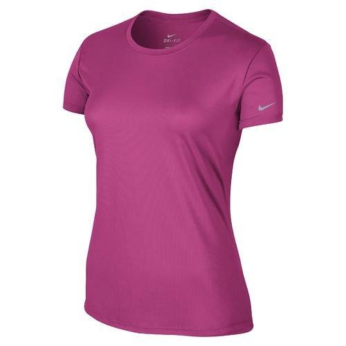 Nike Dri-FIT Challenger Short Sleeve T-Shirt (Pink Light 01, X Large)