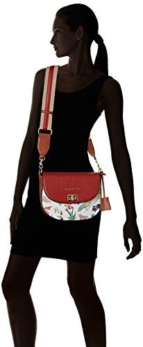 L Fant x Abizanda Women's Handle Silvian 10x21x28 cm Multicolore Top Heach H Bag uniq W q61CHxw