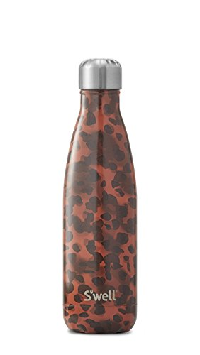 S'well Vacuum Insulated Stainless Steel Water Bottle, 17 oz, Tortoise