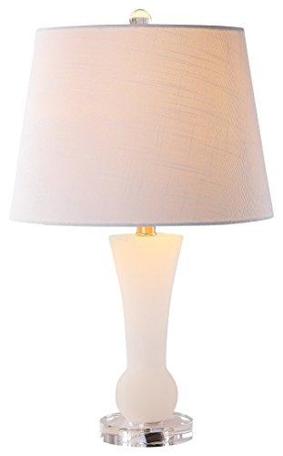 Alabaster Contemporary Table Lamp - JONATHAN Y JYL5021A Eliza 23