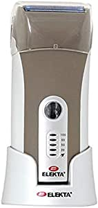 Elekta Rechargeable Men Shaver - Brown and Silver [ERS-222]