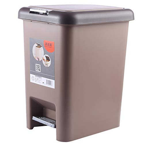 Household Foot Pedal Garbage Can For Home, Kitchen, And