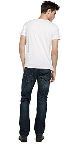 Replay Herren Regular Slim Leg Jeans Waitom, Gr. W31/L34 (Herstellergröße: 31), Blau (Blue Denim 7)