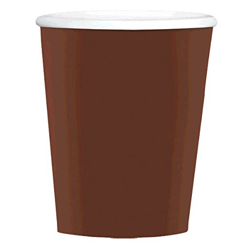 Big Party Pack Paper Coffee Cups | 12 oz | Chocolate Brown | Party Supply | 480 ct.