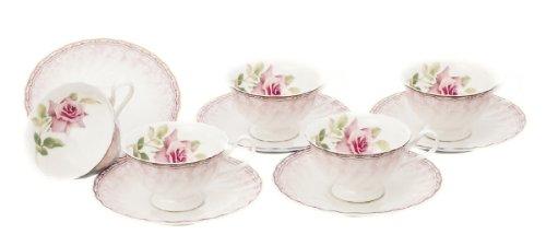 Narumi bone china Queenu0027s memory 5 customer porcelain bowl plate set 95210-21461P 95210-  sc 1 st  Amazon.com & Amazon.com: Narumi bone china Queenu0027s memory 5 customer porcelain ...