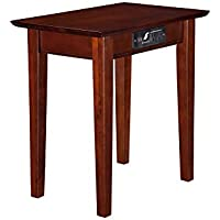 Beaufort Chair Side Table With Charger