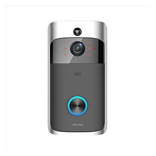 WIFI Video Doorbell,Motion Detection Night Vision WIFI Doorbell,Remote-control 720p HD Smart Wireless Security Camera,Real Time Two-way Audio