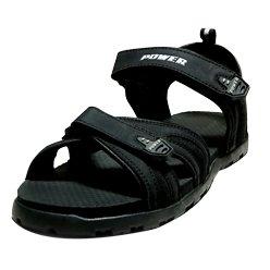 ca17c5639d2bc Power Men S Synthetic Sandals (Power-Black Cross flap)  Buy Online ...