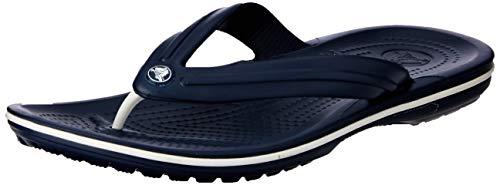 Crocs Crocband Flip Flop, Navy, Men's 9, Women's 11 Medium