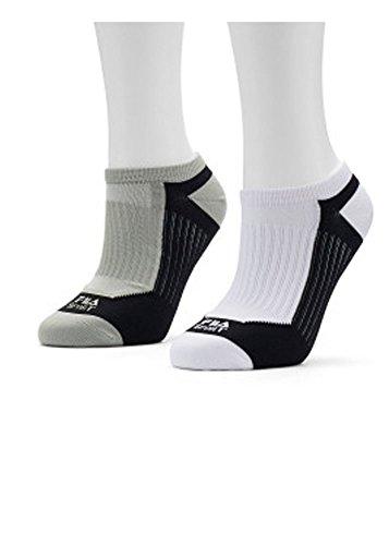 Women's FILA Sport 2-pk.Aerator Mesh Low Cut Socks White/Black 5-9