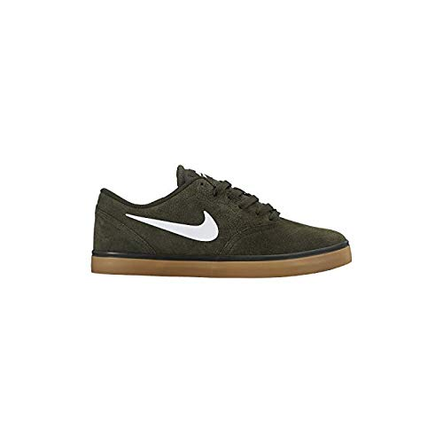 Gum Check Light Sequoia White SB Brown Scarpe Uomo da Skateboard Nike CU0Ba