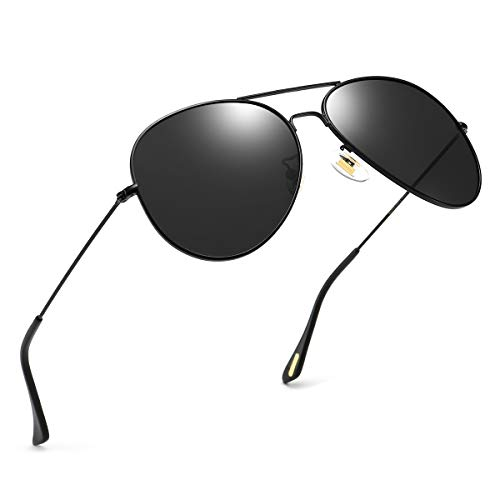 Polarized Aviator Sunglasses for Men and Women Oversized Mirrored Sun Glasses UV400 Protection