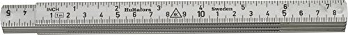 Hultafors 150303 A61-1-6 of aluminium Folding Rule (Steel Folding Rule)