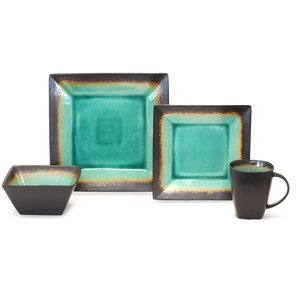 Better Homes And Gardens Jade 16 Piece Dinnerware Set