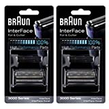 Braun 3600FC Foil and Cutter Combination, 2 Pack