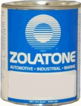 Amazon Com Zolatone Camille White Quart Spatter Finish