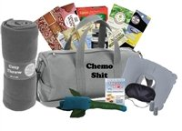 The Big Queasy for Men - Chemo Grey Duffle by Just Don't Send Flowers