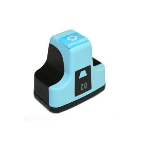 HI-VISION HI-YIELDS ® Compatible Ink Cartridge Replacement for HP 02 (Light Cyan)