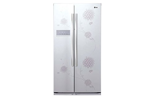 LG 581 L In Frost-Free Double Door Refrigerator (GC-B207GPQV, Bouquet White)