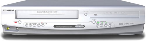 Sylvania DVC840F Progressive Scan DVD player and VCR Combo by Sylvania