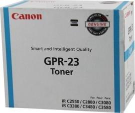 GPR-23 Canon ImageRUNNER C2880i Cyan Toner 14000 Yield - Geniune Orginal OEM toner