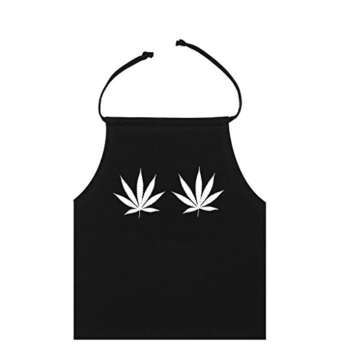 Weed-Halter-Crop-Top-Womens-T-Shirt-Cannabis
