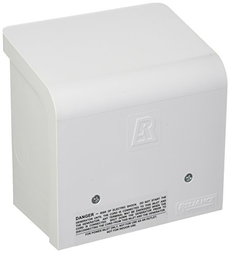 Reliance Controls Corporation PBN30 30-Amp NEMA 3R Power Inlet Box for Generators Up to 7,500 Running ()