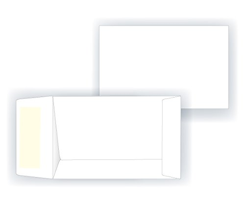 #1 Coin Envelope - Open End - 24# White (2 1/4 x 3 1/2) - Small Envelope Series (Box of 1000) free shipping