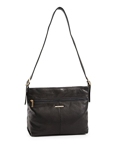 stone-mountain-hampton-collection-top-zip-two-compartment-hobo-black