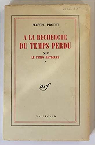 Marcel Proust : À la recherche du temps perdu