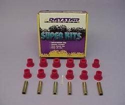 Greaseable Shackle Kit - Daystar KJ02017BK Greaseable Bolt And Bushing Kit Main Eyes Only