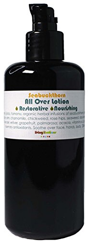 Living Libations - Organic/Wildcrafted Seabuckthorn Tamanu All Over Lotion (6.7 fl oz / 200 ml)
