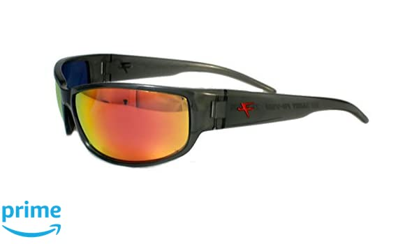 2f36fb6de4 Amazon.com  Fatheadz Eyewear Men s Big Daddy V2.0 Polarized Wrap Sunglasses  Grey 73.0 mm  Clothing