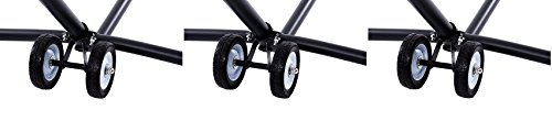 (Vivere WHEEL Hammock Stand Wheel Kit (3 Kits))