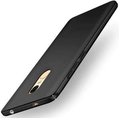 Dovira Back Cover for Mi Redmi Note 4 Plastic/Black