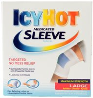 Icy Hot Medicated Sleeve Large -- 3 Sleeves (Icy Hot Sleeve)