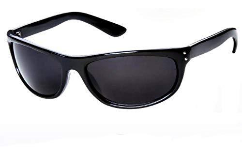 Super Dark MIB Sunglasses Classic Black SD Lens Max UV Protection