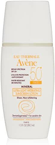 Eau Thermale Avène Mineral Ultra-Light SPF 50 Plus Hydrating Sunscreen Lotion, 1.3 fl. oz.