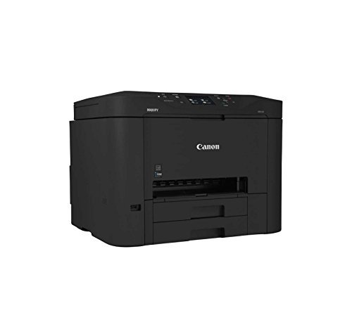 Canon MAXIFY MB5320 Wireless Office All-In-One Inkjet Printer with Mobile and Tablet Printing, and AirPrint and Google Cloud Print Compatible, Black (Best Canon Printer For Cardstock)