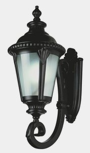 Cheap Trans Globe Lighting 5041 BK Outdoor Commons 25″ Wall Lantern, Black