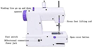 Mini máquina de coser, máquina de mantenimiento eléctrica portátil ...
