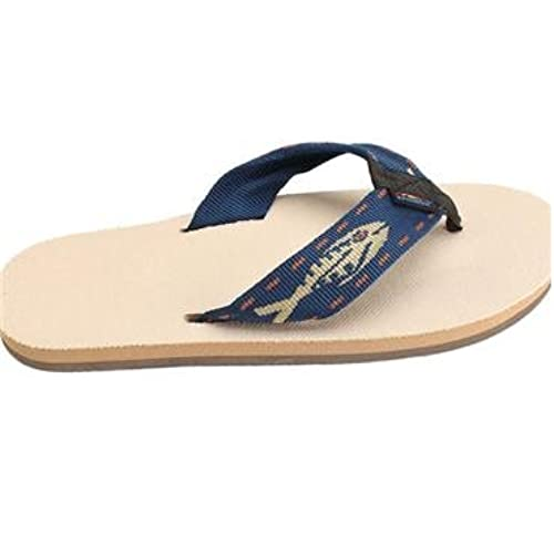 d5afb02fde5a Rainbow Sandals Mens Hemp Eco-Sandals - Brown Silver Fish Black Strap  Medium outlet