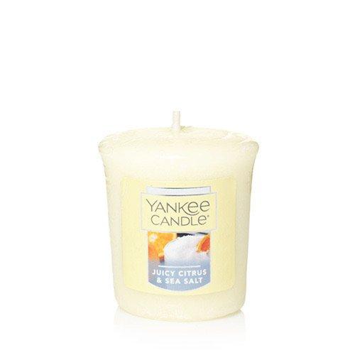 (Yankee Candle JUICY CITRUS & SEA SALT Single Sampler Votive Candles 1.75 oz Each )