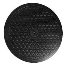 Heavy Duty Swivel for Big Screen TV's & Large Flat Panel Monitors with Steel Ball Bearings for Indoor/Outdoor Use (15'')
