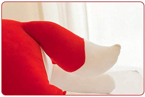 N/C Muñecas PeluchesFox Peluches para niñas Niños NiñosAlmohada de Felpa Muñeca de Peluche MuñecaRegalo de cumpleaños 1pcs (Rojo) 50cm