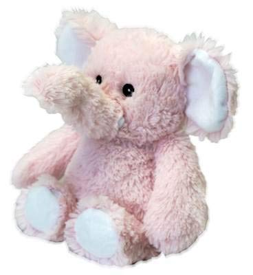 Warmies Pink Elephant Cozy Plush Heatable Lavender Scented Stuffed Animal