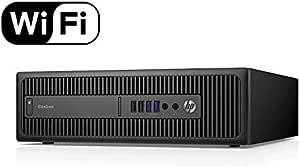 HP EliteDesk 800 G2 Small Form Factor SFF Desktop PC Intel Core i5 6500 Processor 3.20Ghz Quad Core 8Gb Ram 240Gb Solid State Drive SSD Desktop PC Wifi Wireless Windows 10 Professional 64Bit (Renewed)